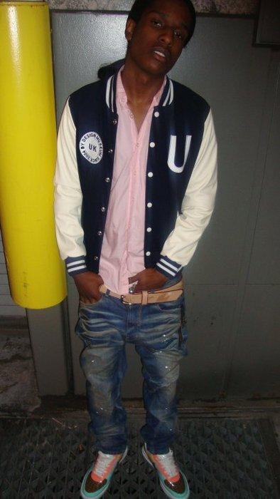 ripped jeans asap rocky wwwimgkidcom the image kid